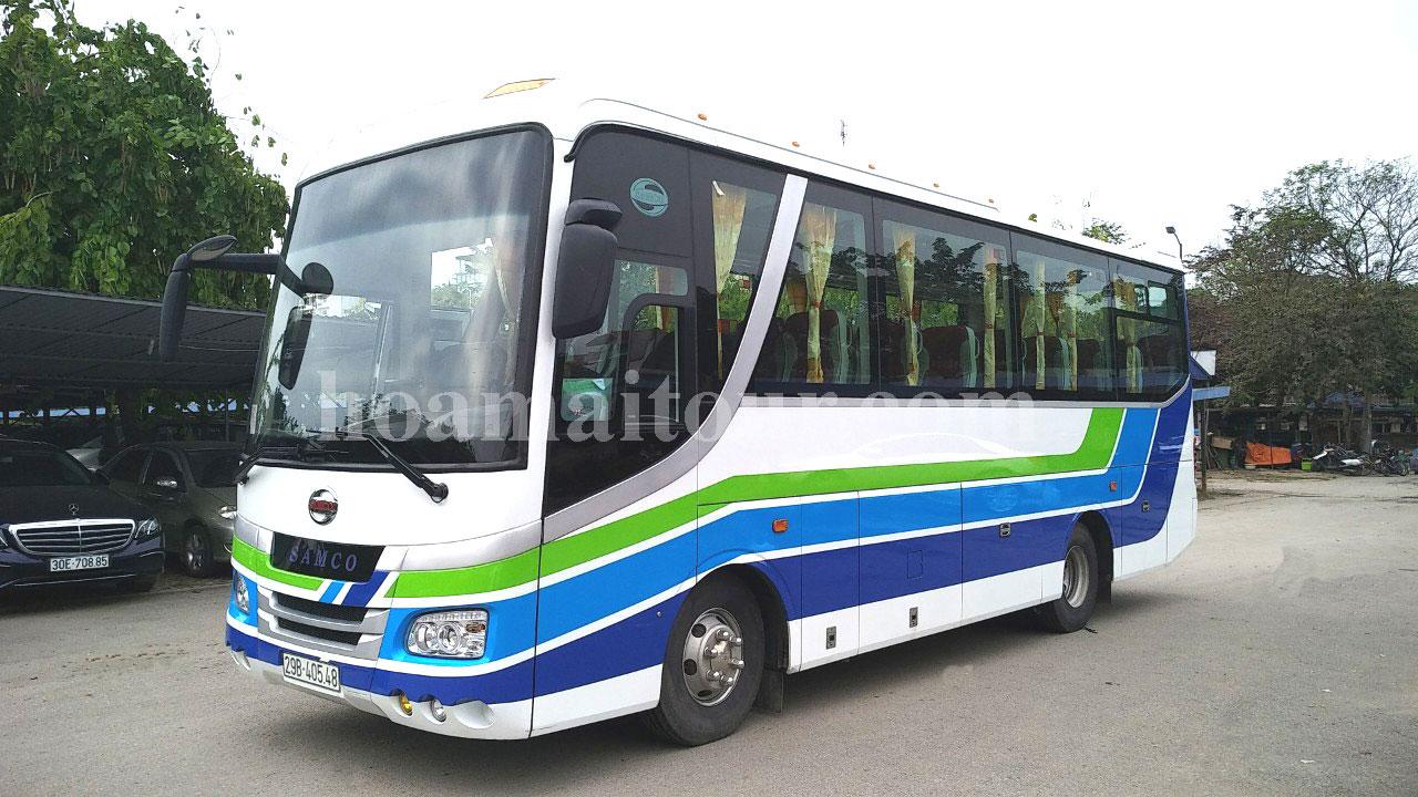Cho thuê xe 35 chỗ uy tín, chất lượng tại Hà Nội