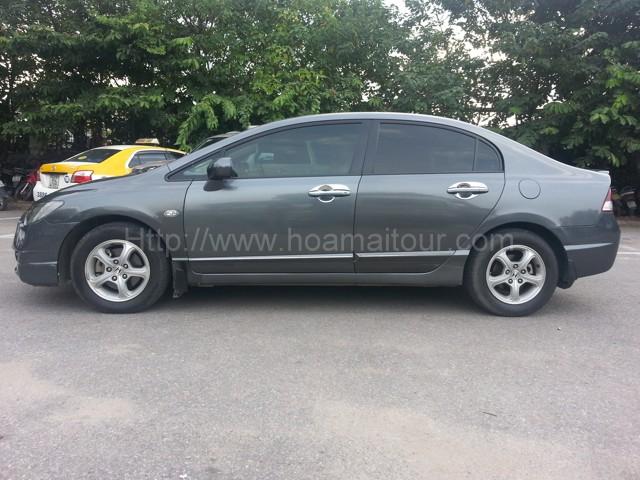 Dịch vụ cho thuê xe 4 chỗ giá rẻ tại Hà Nội