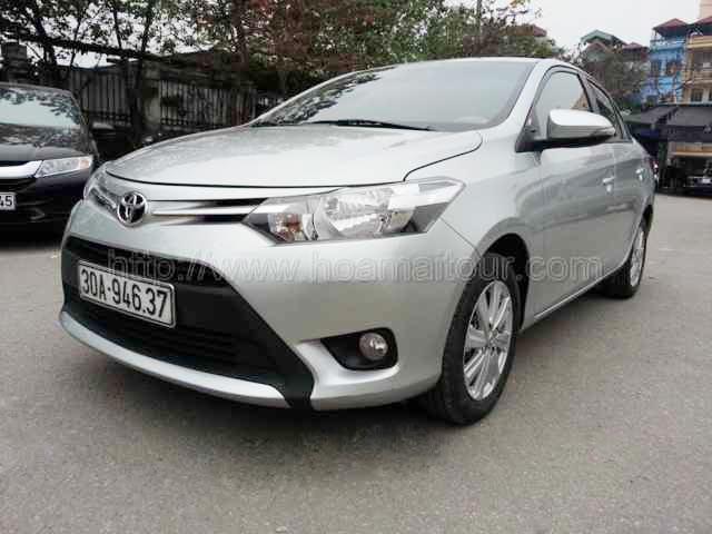 Cho thuê xe Toyota vios giá rẻ nhất Hà Nội