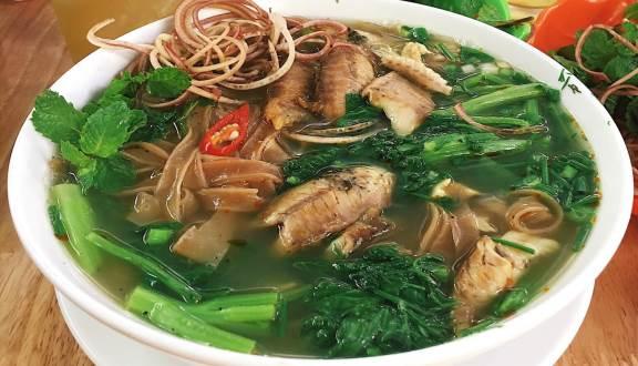 Bánh đa cá rô Ninh Bình