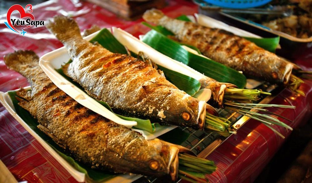 Cá suối Sapa chiên hoặc nướng
