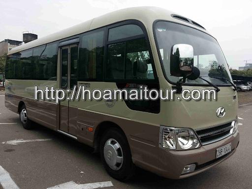 Dịch vụ thuê xe Hoa Mai Tour