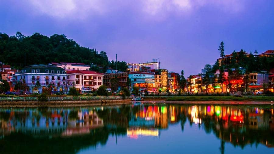 Hồ Sapa được coi là linh hồn của thị trấn