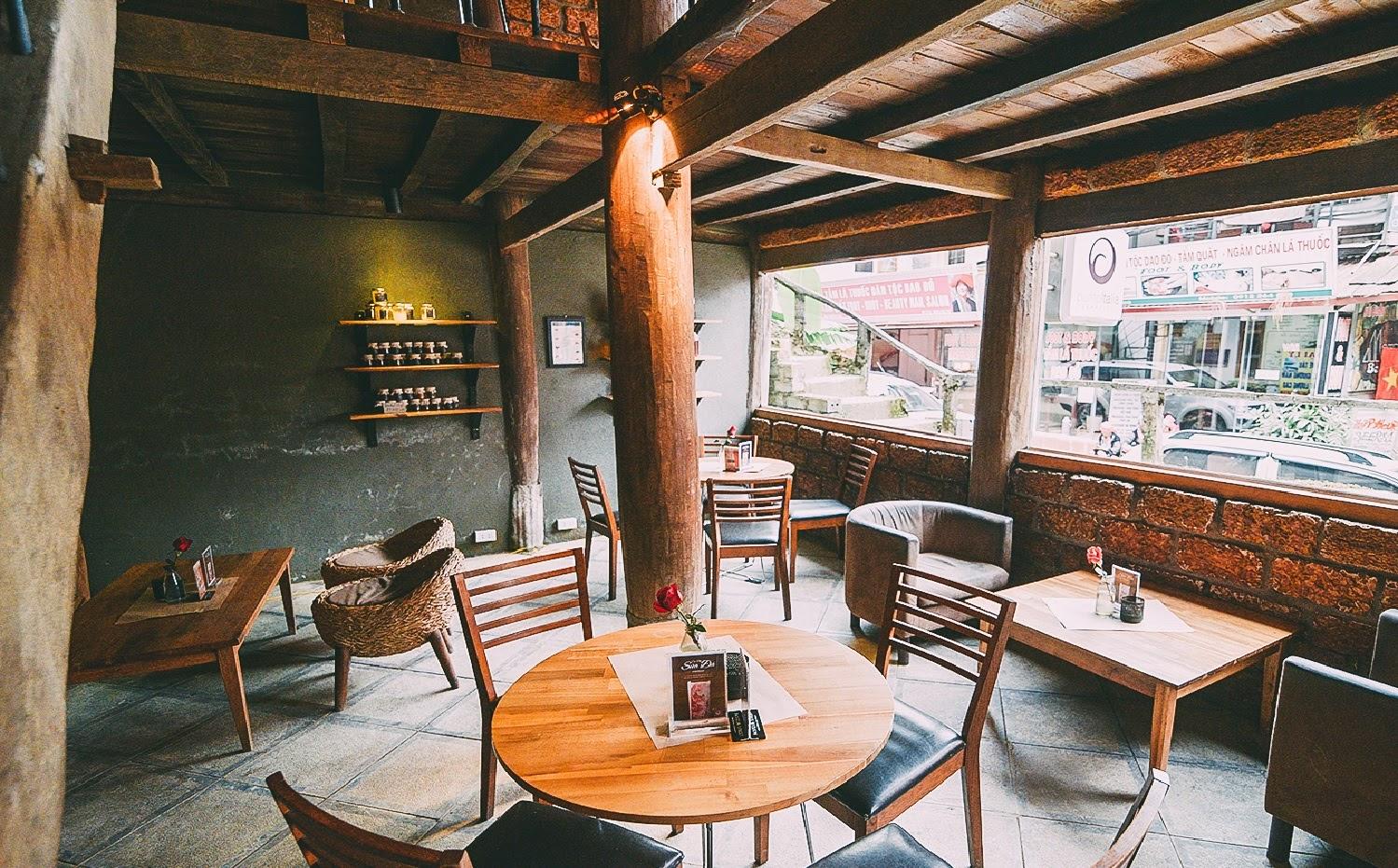 Mây coffee là một trong những quán cafe nổi tiếng nhất tại Sapa