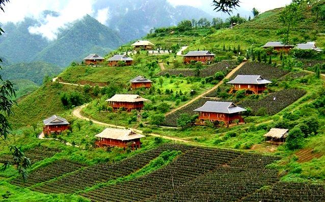Ngắm những ngôi nhà tên các thửa ruộng đẹp mê người