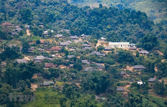 Phong cảnh làng quê Điện Biên