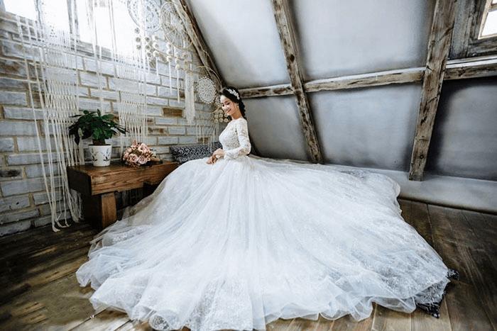 Váy xòe công chúa