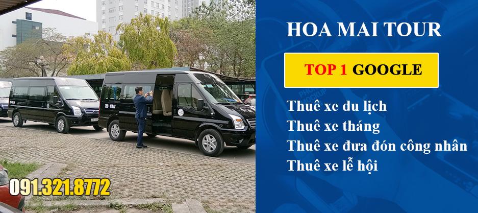 Cho thuê xe tại Hà Nội chuyên nghiệp chỉ có Hoa Mai tour